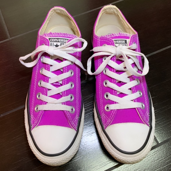 Converse Shoes | Bright Purple Size7